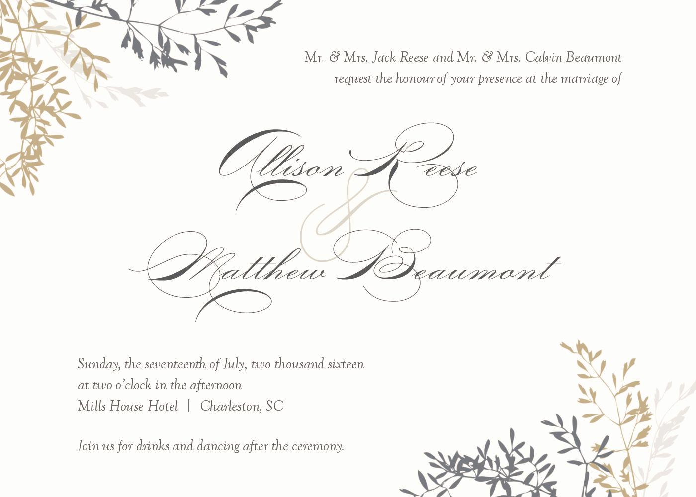 Wedding Invitation Design Templates Inspirational Wedding Invitation Wedding Invitations Template Superb
