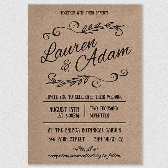 Wedding Invitation Design Templates New Diy Wedding Invitations Templates and Traditional Wedding