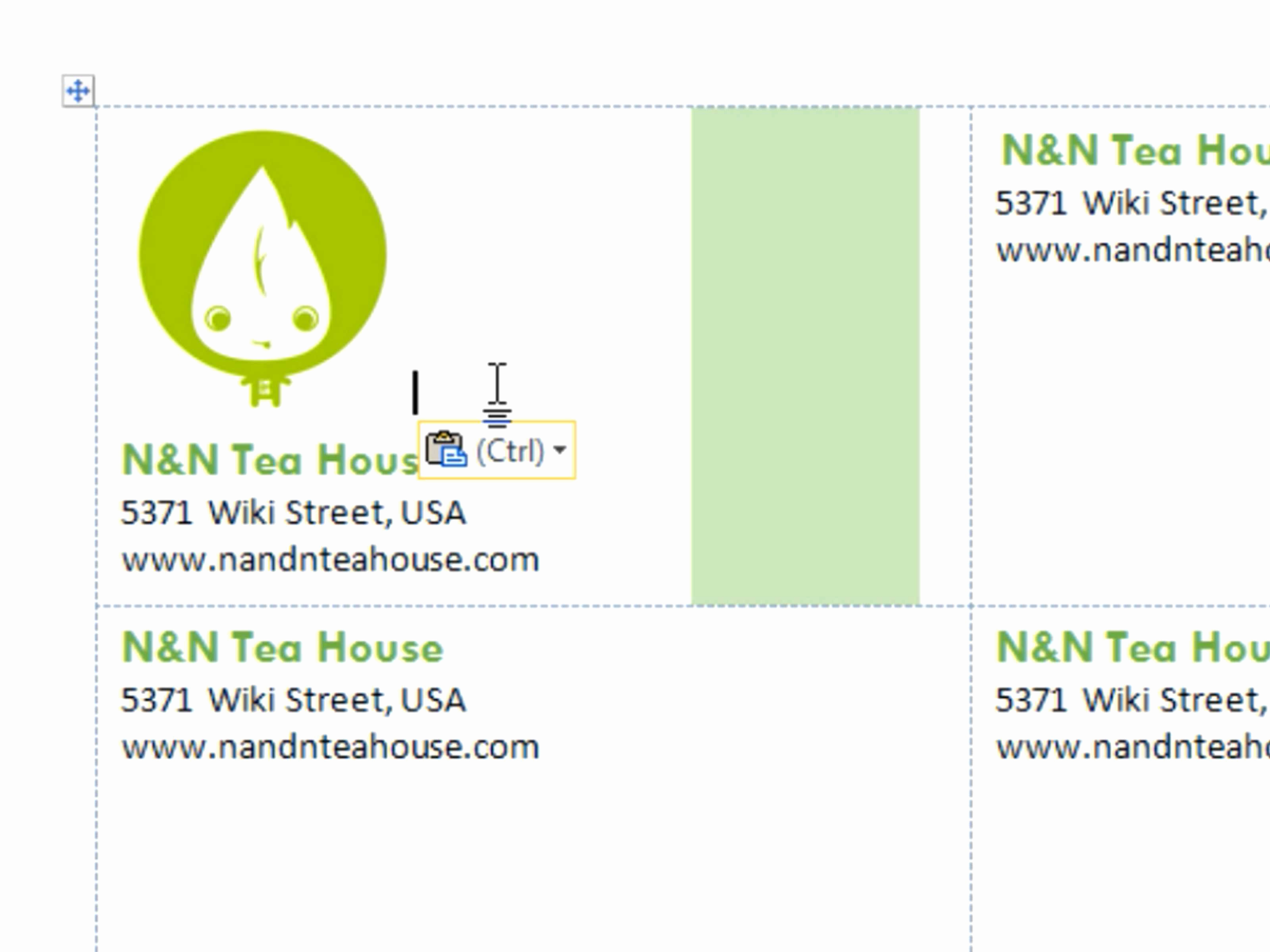 Word Template for Business Cards Beautiful 14 Best Microsoft Business Card Templates Free