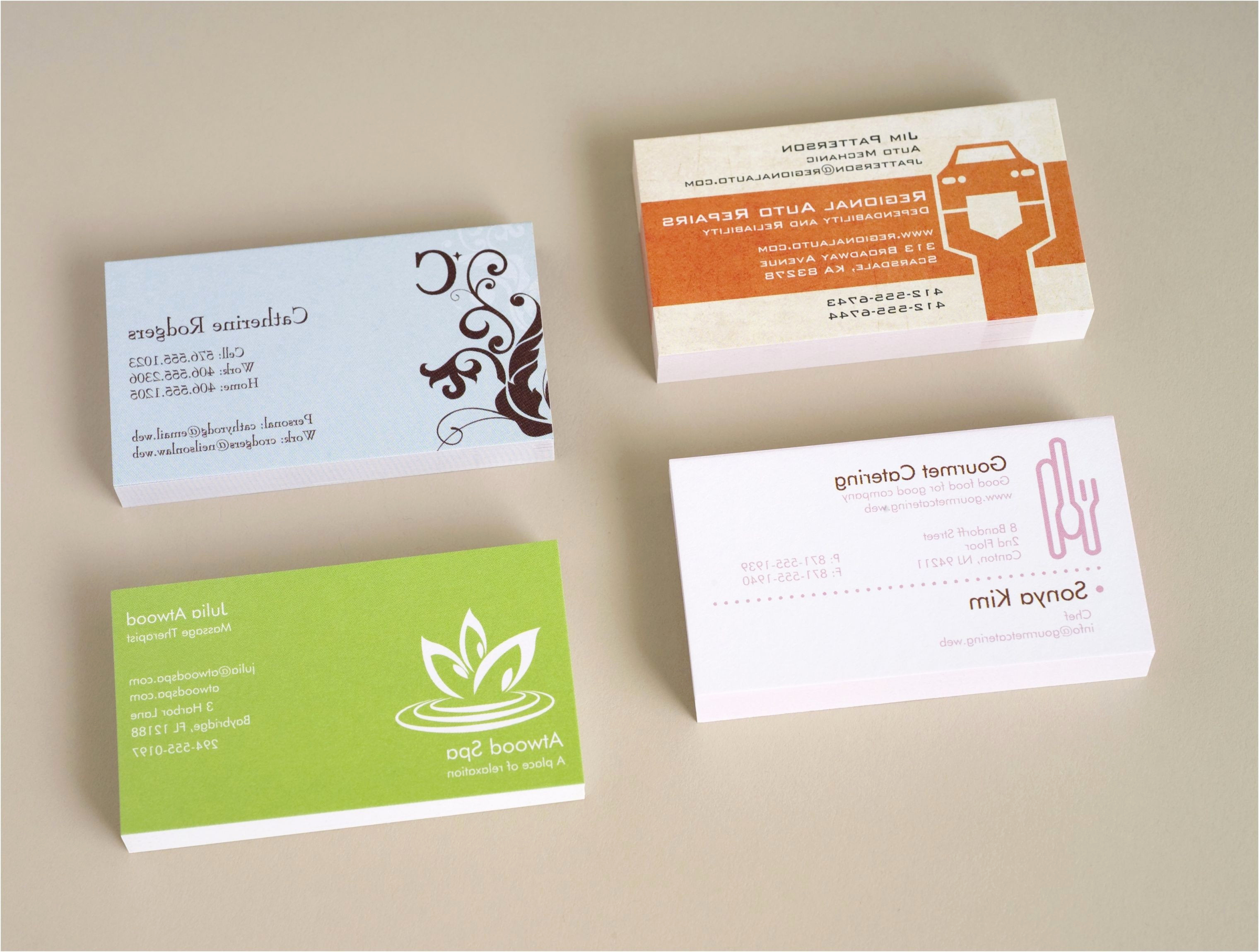 Word Template for Business Cards Best Of Double Sided Business Cards Template Word Inspirational