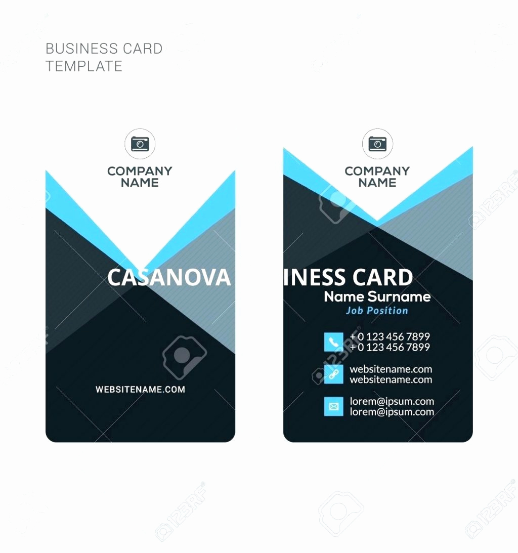 Word Template for Business Cards Elegant Double Sided Business Card Template Word – Elegant Chart