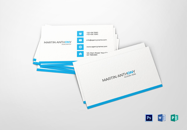 Word Template for Business Cards Fresh 34 Free Business Card Templates Indesign Ai Psd Word