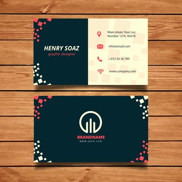 Word Template for Business Cards New Business Card Templates