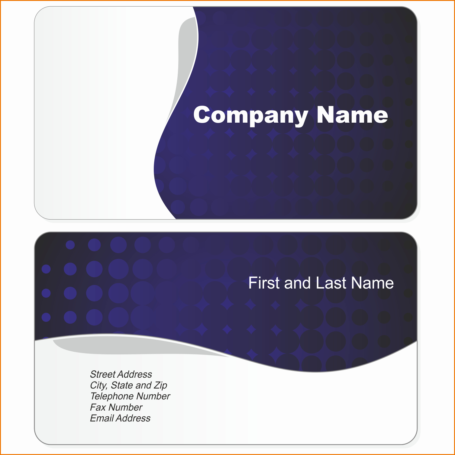 Word Template for Business Cards Unique Business Card Layout Template Word Beautiful Template